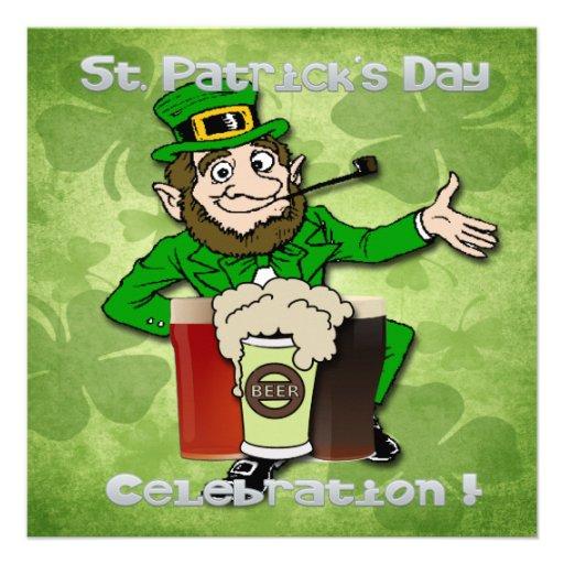 Invitaciones del fiesta del día de St Patrick del  Invitaciones Personales