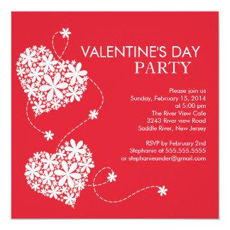 Invitaciones del fiesta del día de tarjetas del invitación 13,3 cm x 13,3cm