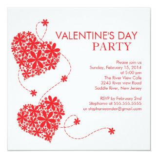 """Invitaciones del fiesta del día de tarjetas del invitación 5.25"""" x 5.25"""""""