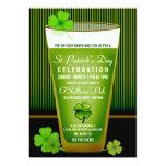 Invitaciones del fiesta del día del St. Patricks Invitación 12,7 X 17,8 Cm