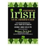 Invitaciones del fiesta del día del St. Patricks d Anuncio