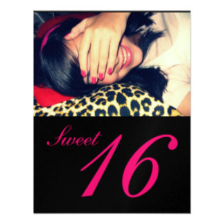 Invitaciones del fiesta del dulce 16