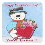 Invitaciones del fiesta del el día de San Valentín Invitación 13,3 Cm X 13,3cm