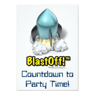 """Invitaciones del fiesta del icono de Launcher™ Invitación 5"""" X 7"""""""