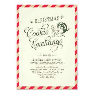Invitaciones del fiesta del intercambio de la invitación 12,7 x 17,8 cm