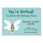 Invitaciones del fiesta del mono del calcetín del anuncios personalizados