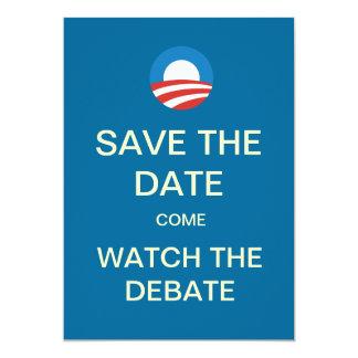 Invitaciones del fiesta del reloj del discusión comunicados personales