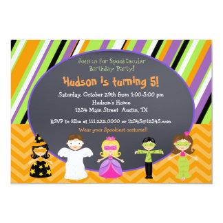 """Invitaciones del fiesta del traje de Halloween Invitación 5"""" X 7"""""""