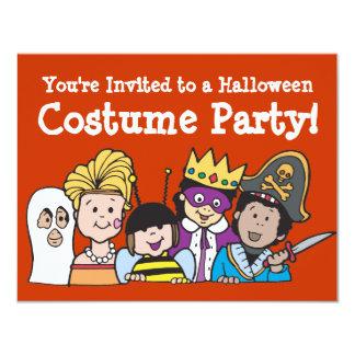 """Invitaciones del fiesta del traje de los niños invitación 4.25"""" x 5.5"""""""