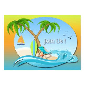 Invitaciones del fiesta del verano de los sueños comunicados