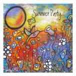 Invitaciones del fiesta del verano de los sueños d anuncio