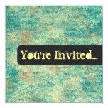 Invitaciones del fondo del vintage invitación 13,3 cm x 13,3cm