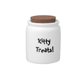 ¡Invitaciones del gatito! Tarro Jarra Para Caramelo