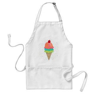 Invitaciones del helado delantal