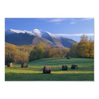 """Invitaciones del Mt. Mansfield Vermont Invitación 5"""" X 7"""""""