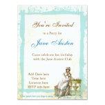 Invitaciones del personalizado de Jane Austen Comunicados Personales