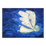 Invitaciones del personalizado del arte del ángel invitaciones personalizada