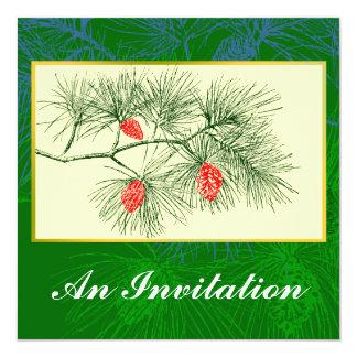 """Invitaciones del personalizado del arte del invitación 5.25"""" x 5.25"""""""