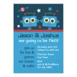 Invitaciones del personalizado del cumpleaños de comunicados personales