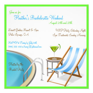 Invitaciones del personalizado del fin de semana d anuncios