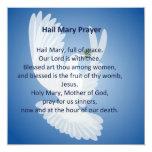 Invitaciones del rezo de Maria del saludo Comunicado
