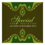 Invitaciones del Special de la tierra de Goddesian Invitaciones Personales