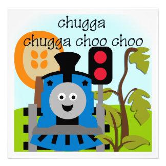 Invitaciones del tren de Chugga Choo Choo Invitaciones Personales