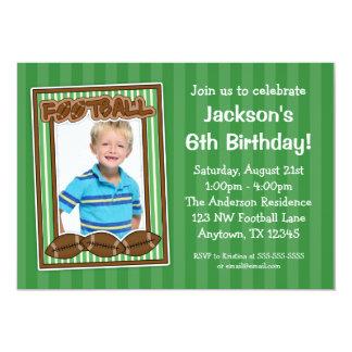 """Invitaciones del verde de la fiesta de cumpleaños invitación 5"""" x 7"""""""