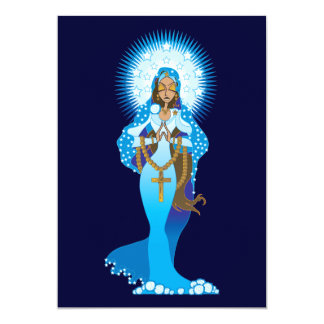 Invitaciones del Virgen María Comunicado Personalizado