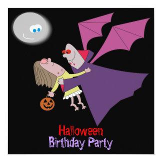 """Invitaciones divertidas de la fiesta de cumpleaños invitación 5.25"""" x 5.25"""""""