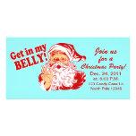 Invitaciones divertidas de la fiesta de Navidad Tarjeta Personal