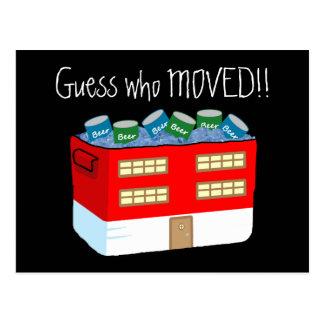 Invitaciones divertidas de MovingIn del Tarjetas Postales