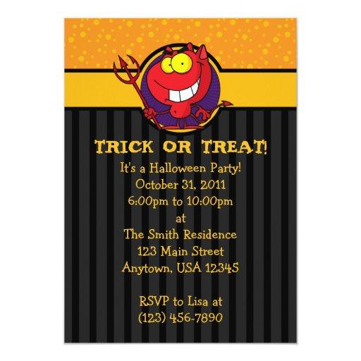 """invitaciones divertidas del fiesta de Halloween Invitación 5"""" X 7"""""""