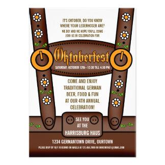 Invitaciones divertidas del fiesta de Oktoberfest Anuncio