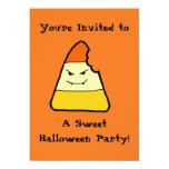 Invitaciones dulces del fiesta de Halloween Invitación 12,7 X 17,8 Cm