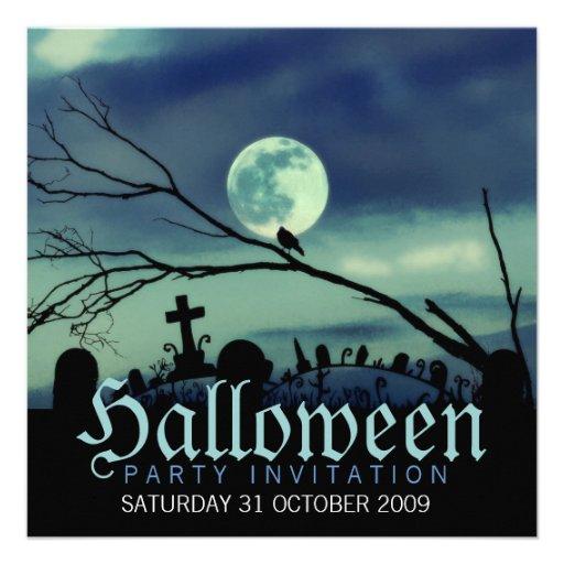 Invitaciones dulces del fiesta de Halloween de la  Invitación