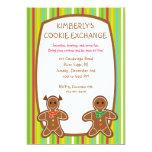 Invitaciones dulces del intercambio de la galleta invitación 12,7 x 17,8 cm