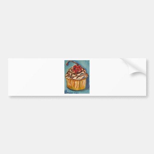 Invitaciones dulces etiqueta de parachoque