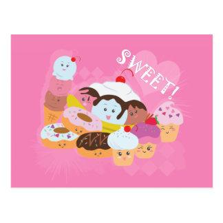 Invitaciones dulces postal