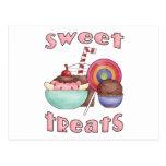 Invitaciones dulces tarjetas postales
