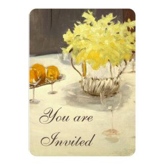 Invitaciones elegantes de la cena del ensayo de invitación 11,4 x 15,8 cm