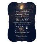 Invitaciones elegantes del boda de la noche de la invitación 12,7 x 17,8 cm