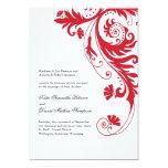 Invitaciones elegantes del boda invitación