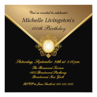 Invitaciones elegantes del fiesta de las señoras invitaciones personales