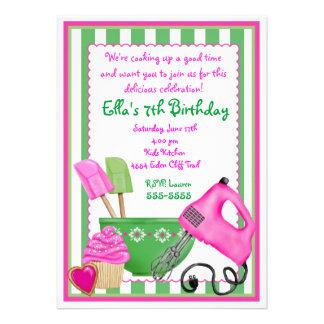 Invitaciones elegantes lamentables del cumpleaños invitacion personal