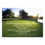 Invitaciones escénicas de la excursión del golf