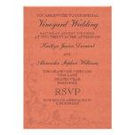 Invitaciones especiales del boda del viñedo comunicados personales