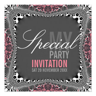 Invitaciones especiales del fiesta del damasco mar comunicado