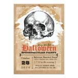 Invitaciones espeluznantes del fiesta de Halloween Anuncio