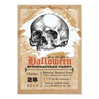 """Invitaciones espeluznantes del fiesta de Halloween Invitación 5"""" X 7"""""""